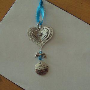 Heart Suncatcher Keepsake Memorial Ornament
